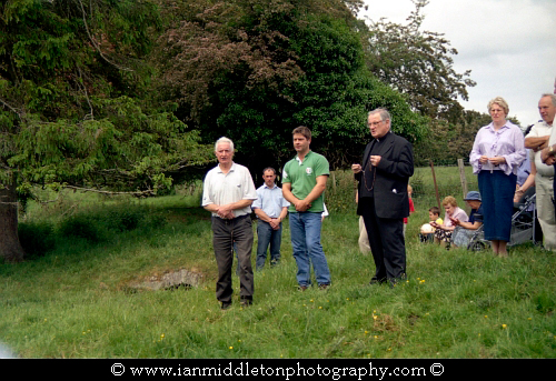 The Well of Sergais as it was known in ancient times, is now known as Trinity Well and is located in the village of Carbury, County Kildare. The Annual Rosary is held here every year first Sunday in June