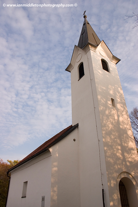 Church of Saint Vid on Sentvid hill in Brezice