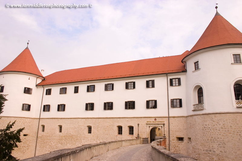Mokrice castle just south of Brezice , Eastern Slovenia on border with Croatia