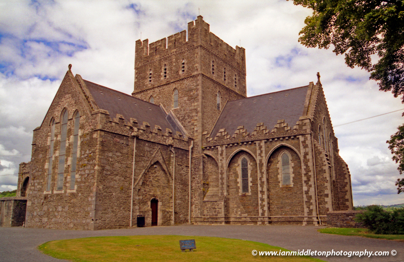 Saint Brigid cathedral in Kildare town
