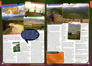 Article on climbing Croagh Patrick example by Ian Middleton