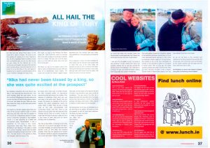 Article on Tory Island by Ian Middleton