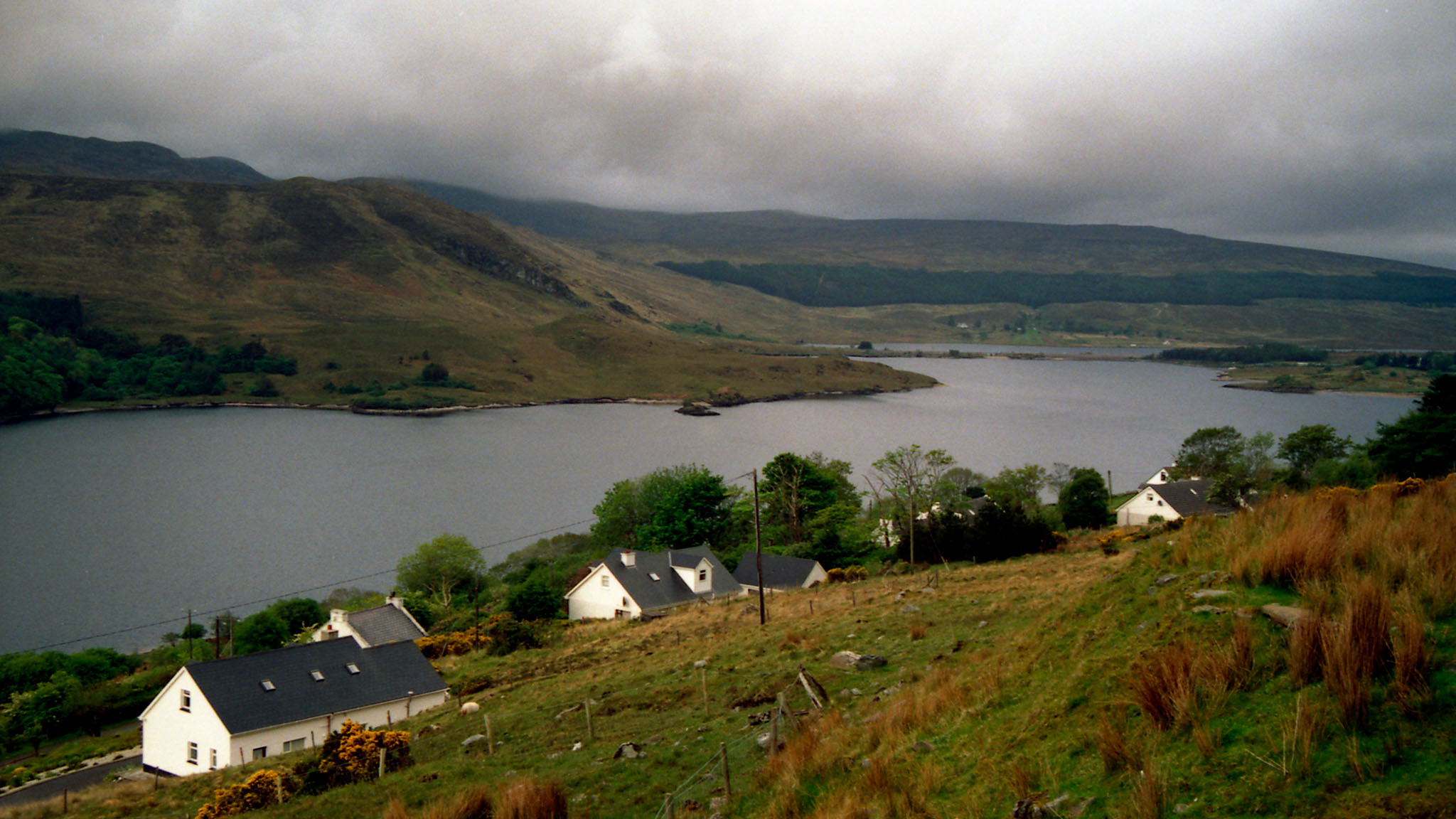 Views from the Poisoned Glen in Northern County Donegal, Ireland.